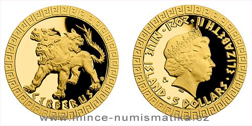 Zlatá mince Bájní tvorové - Kerberos