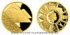 Zlatá 1/10 Oz mince Sedm divů starověkého světa - Egyptské pyramidy