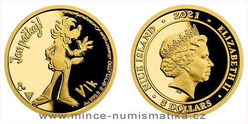 Zlatá mince Jen počkej! - Vlk