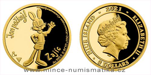 Zlatá mince Jen počkej! - Zajíc
