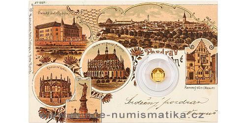 Zlatá mince Kutná Hora - Chrám sv. Barbory