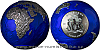 2021 - 5 $ - 3 Oz The Blue Marble Earth (planeta Země v noci) antique