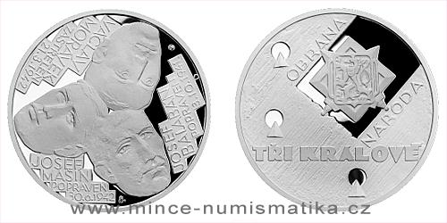 Stříbrná medaile Národní hrdinové - Tři králové