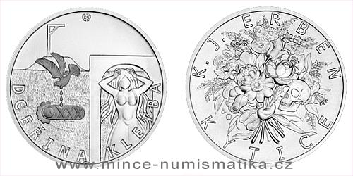 Stříbrná medaile K. J. Erben, Kytice - Dceřina kletba