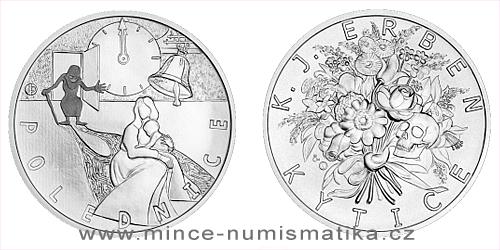 Stříbrná medaile K. J. Erben, Kytice - Polednice