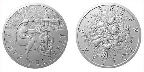 Stříbrná medaile K. J. Erben, Kytice - Zlatý kolovrat