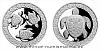 Stříbrná medaile Želva - symbol dlouhověkosti