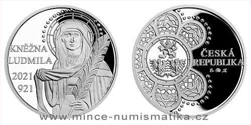 Stříbrná medaile Kněžna Ludmila
