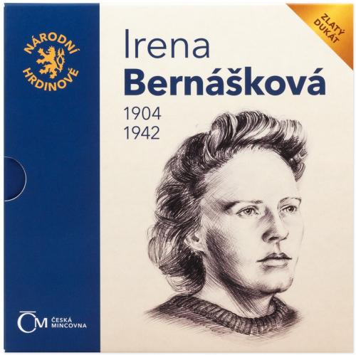 2021_Au_dukat_Narodni_hrdinove_Irena_Bernaskova_proof_1