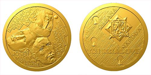 Zlatý dukát Národní hrdinové - Tři králové