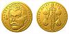 Zlatá půluncová medaile Jan Janský
