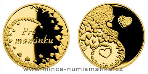 Zlatá medaile Pro maminku