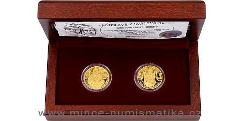 Sada dvou dukátů Královské dvojice - Vratislav II. a Svatava Polská