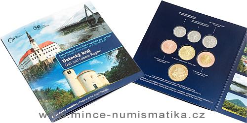 Sada oběžných mincí 2021 Ústecký kraj