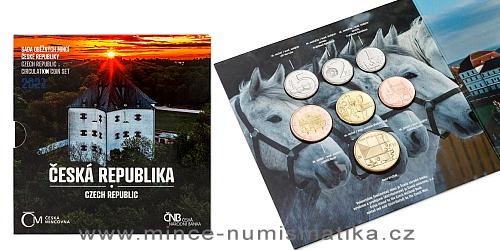Sada oběžných mincí ČR 2021 - Česká republika