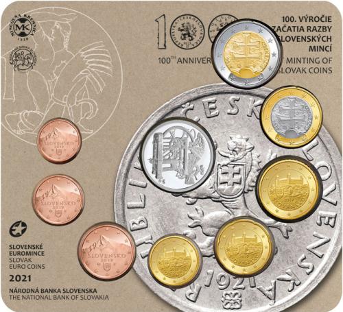 2021_sada_minci_SR_100_let_razby_minci_Kremnica_unc_3