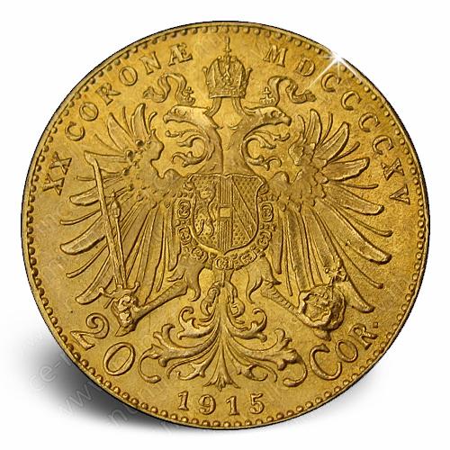 20_koruna_Frantisek_Josef_1915_mince_avers