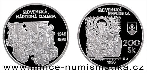 Slovenská národní galerie - 50. výročí založení