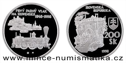 Příjezd prvního parního vlaku na Slovensko - 150. výročí