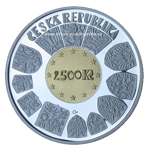 2500Kc_2004_Vstup_CR_do_EU_mince_avers