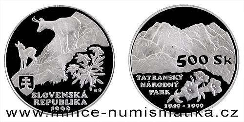 Ochrana přírody a krajiny - Tatranský národní park - 50. let