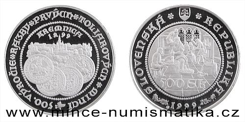 Ražba prvních tolarových mincí na Slovensku - 500. výročí