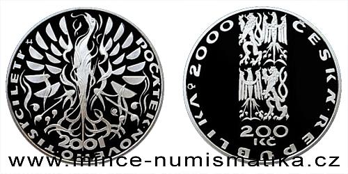 200 Kč - Počátek nového tisíciletí