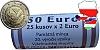1 rulička (25 kusů) 2 € - 20. výročí vzniku Vyšehradské skupiny