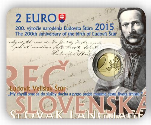 2_eura_2015_Ludovit_Stur_sberatelska_karta_avers