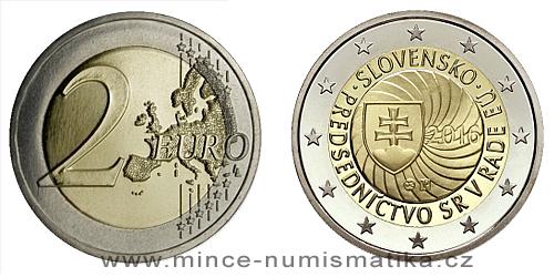 2 € -  Prvé predsedníctvo Slovenskej republiky v Rade Európskej únie