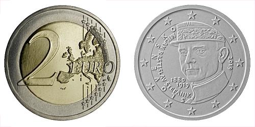 2 € - 100. výročie úmrtia - Milan Rastislav Štefánik