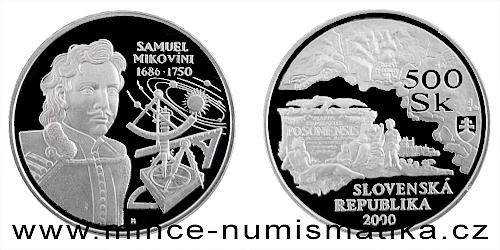 Samuel Mikovíni - 250. výročí úmrtí