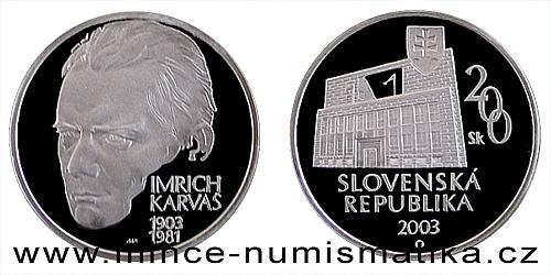 Imrich Karvaš - 100. výročí narození