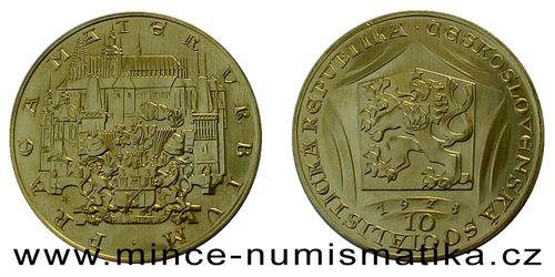 10 dukát Karel IV. 1978