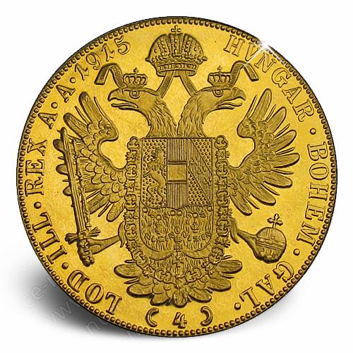 4_dukat_Frantisek_Josef_1915_mince_avers