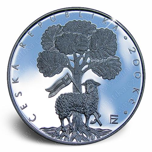 57_2007_Jednota_Bratrska_mince_avers