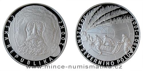 200 Kč - 100. výročí dosažení severního pólu
