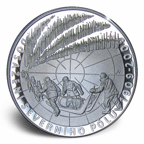 69_2009_Severni_pol_mince_proof_revers