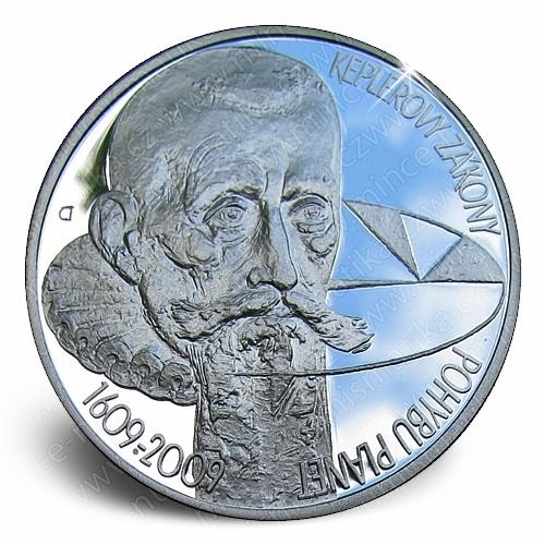 71_2009_keplerovy_zakony_mince_proof_revers