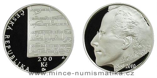 200 Kč - 150. výročí narození Gustava Mahlera