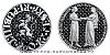 200 Kč 700. výr. nástupu J. Lucemburského na trůn, sňatek J. Lucemburského s Eliškou Přemyslovno