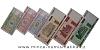 Bělorusko - série 6 kusů bankovek UNC