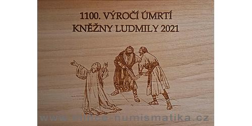 Dřevěná etue 1100. výročí úmrtí kněžny Ludmily 2021
