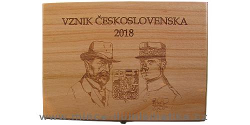 Dřevěná etue Vznik Československa 2018