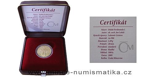 Ferdinad_I-dukat-etue_certifikat