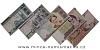 Irán - série 5 kusů bankovek UNC