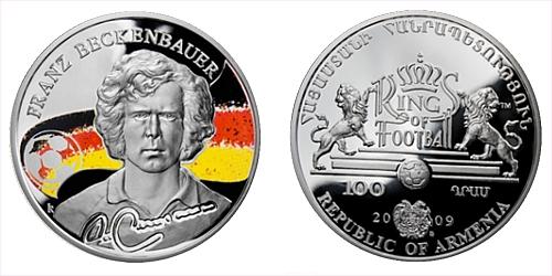 2009 - 100 Dram - Kings of football - Franz Beckenbauer (Ag)