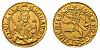 Zlatá replika dukátu Karla IV. 1346 - 1378 (císařský typ)