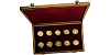 Sada zlatých mincí Kulturní památky technického dědictví 2006 - 2010