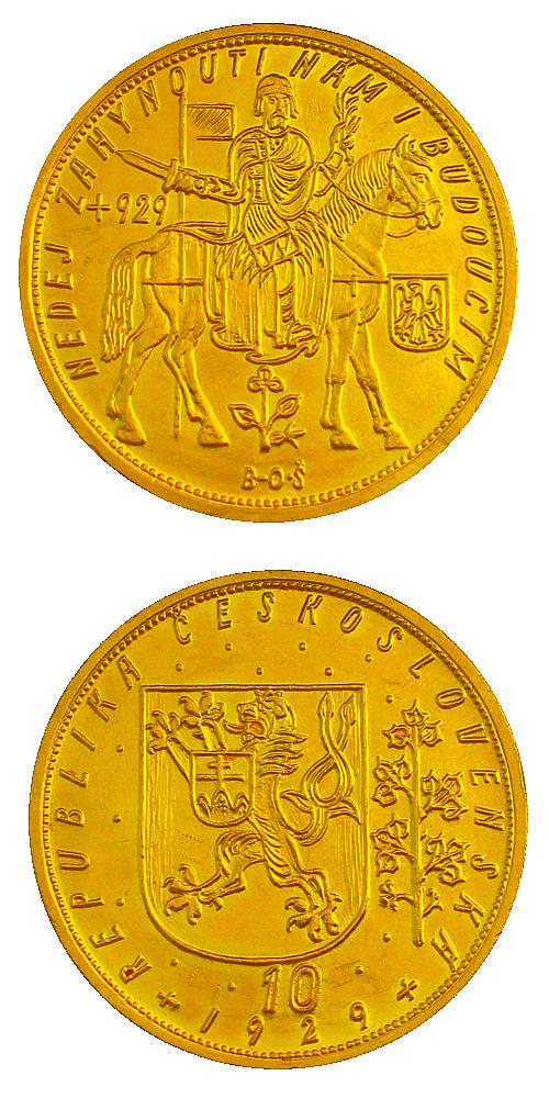 Svatovaclavsky_10_dukat_1929_Au_mince